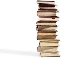 Stack of books from the Page Turner blog